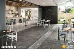 Say hi to these mind-blowing dark grey porcelain tiles containing natural stone effect. #StoneStyleTiles #StoneLookTiles #tiles #HomeInterior, #Interior #GreyTiles #DarkGray #FloorTiles #WallTiles  Address: Main Susan Road, Madina Town, Faisalabad, Pakistan. Contact : 041 8548746 Website: www.tileselect.com Facebook: fb.com/TileSelect