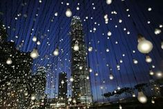 La pioggia di luce- Hong Kong