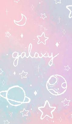 New Wallpaper Iphone Galaxy Pastel Ideas Cute Galaxy Wallpaper, Planets Wallpaper, Cute Pastel Wallpaper, Wallpaper Iphone Disney, Cute Disney Wallpaper, Kawaii Wallpaper, Pink Wallpaper, Tumblr Backgrounds, Cute Wallpaper Backgrounds