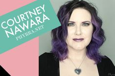 25 Top Beauty bloggers share 2015 makeup trends! They featured my purple lip trend! I'm wearing Fyrinnae Misfit lipstick :)