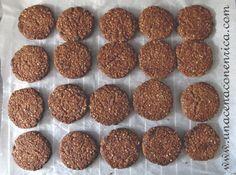 Biscotti vegani con fiocchi d�avena e cacao amaro