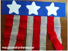 I love this easy DIY for any red, white & blue holiday