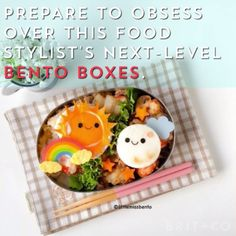 These Bento Box creations are SO cool!                                                                                                                                                                                 More