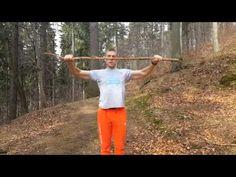 Trening mobilności ramion z kijem - Marek Purczyński - YouTube Crossfit, Health Fitness, Youtube, Therapy, Shape, Fitness, Youtubers, Youtube Movies, Health And Fitness