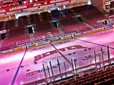 University of Denver ice skating rink at Magness Arena