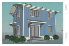 Hydrangea: 3 Bedroom, 2 Bath House — THE small HOUSE CATALOG