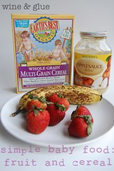 Easy baby food recipe