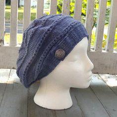 Nina Machlin Dayton Visiting Linda Hat PDF in New Knitting Patterns at Webs