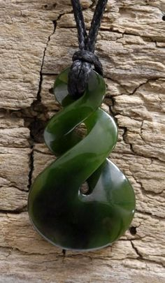 Discover this Maori Jade Double Twist and be impressed ...
