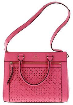 Women's Shoulder Bags - Kate Spade Perri Lane Romy Leather Handbag Shoulder Bag in Caberet Pink 688 * Want additional info? Click on the image.