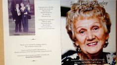 Billy Fury Mother died age 96 Tribute, In Thoughts of You