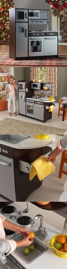 kitchens 158746: pretend play kitchen set kids toy cooking food