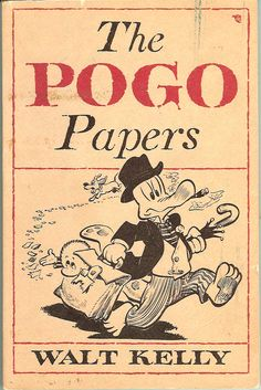 Walt Kelly's Pogo: A small gallery of well-worn paperback covers, 1951 - 1963