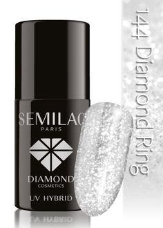Lakier hybrydowy Semilac 144 Diamond Ring - 7 ml - Diamond Cosmetics Poland :: sklep online Diamond Cosmetics, Cool Nail Designs, Pedicure, Diamond Rings, Nail Polish, Nail Art, Nails, Poland, Awesome