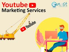 Youtube Marketing Company offers professional youtube marketing and youtube video promotion services to promote companies, products, services by eNest Services that help in increasing view, like and subscriptions to your YouTube channel. For more details, you can call us  8287335066 Advertising Services, Online Advertising, Print Advertising, Facebook Marketing, Content Marketing, Online Marketing, Youtube Advertising, Recent Technology, Communication Methods