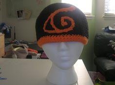 Naruto Crochet Hat by Zikaeqs.deviantart.com on @deviantART