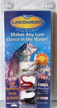 LINEDANCER FISHING TOOL - INCREASES LURE ACTION Line Dancer Fishing Tool http://www.amazon.com/dp/B00333E5UC/ref=cm_sw_r_pi_dp_geJDwb1Q9QPPT