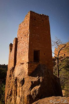 Hovenweep National Monument, Ancestral Puebloans ruins