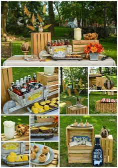Ideas to help you throw a Fall harvest party with Mike's Hard Lemonade. Sponsored by: Fall Birthday Parties, Birthday Party Themes, Harvest Party Decorations, Mikes Hard Lemonade, Fall Harvest Party, Party Treats, Party Entertainment, Party Planning, Party Time