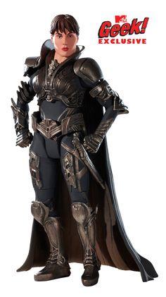 superman man of steel faora action figures photos   Faora in Man of Steel Action Figure
