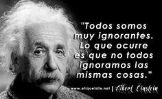 Las ganas de aprender estar en saberse ignorante y querer mejorar