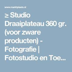 ≥ Studio Draaiplateau 360 gr. (voor zware producten) - Fotografie | Fotostudio en Toebehoren - Marktplaats.nl