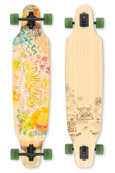 Dusters California | Longboards and Cruiser Skateboards | Vibe  ART: Ciro Bicudo