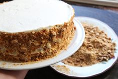 Krokankake med vaniljekrem - Krem.no Pastel, Tiramisu, Baking, Ethnic Recipes, Desserts, Food, Tailgate Desserts, Cake, Deserts