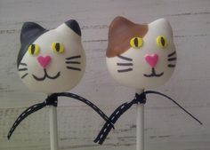 Cute Spotted Cat & Dog Cake Pop | Animal Cake Pops, Cake Pops, Themed Cake Pops | Beautiful Cake Pictures