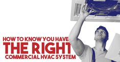 The right HVAC system will not only improve your commercial property but will save you money and the time spent on repairs after installation. Commercial Hvac, Thing 1, Energy Bill, High Energy, Heating And Cooling, How To Know, Knowing You, Improve Yourself, Miami
