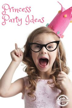 Princess Party Ideas via @hollyhomer