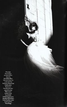 Shauna, Harmony, Anna, Billie, Alexia, Ellie and Melissa by Nick Knight (Another Magazine)