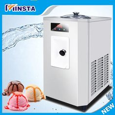 Commercial desktophard  ice cream machine Stainless Steel sweet ice cream cone 2017 auto ice cream maker