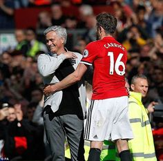 Mourinho will welcome Carrick onto his coaching team from the start of next season