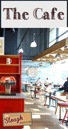 The Cafe - Tesco Extra - Slough, Berkshire - 50's Diner