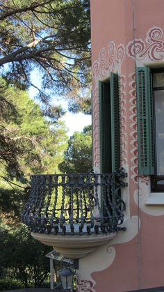 balcony, El Carmel, Barcelona, Catalonia