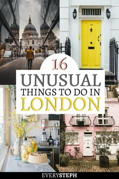 Trips to lavender fields, tours led by ex-homeless guides and secret parties: there is no shortage of things to do in London off the beaten path. And what about a museum of cans or a container city? Check out this extensive list of 16 unusual things to do Europe Destinations, Europe Travel Tips, Traveling Tips, Travelling, Travel Goals, Holiday Destinations, Budget Travel, Italy Travel, Travel Guide