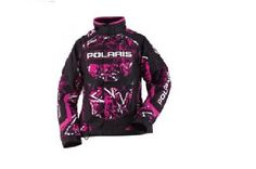 POLARIS WOMEN FXR THROTTLE JKT MAGENTA PRINT SIZE L Polaris Snowmobile, Magenta, Motorcycle Jacket, Winter Jackets, Super Cute, Shopping, Website, Women, Fashion