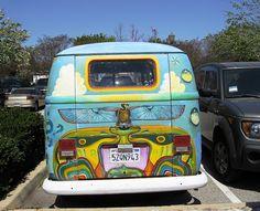 VW  camper van painted