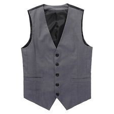 Men New Business Style Vest Formal Waistcoat Slim Fitness Tops Dress Suit Jacket