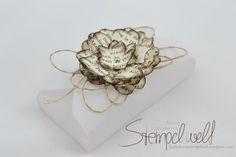 Vellum Box mit einer Blume inkl. Anleitung