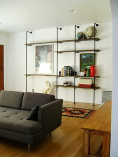 [ pipe shelving ]