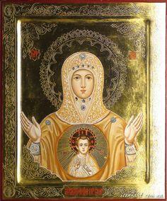 Theotokos of the Sing Seraphim - Ponetaevsk