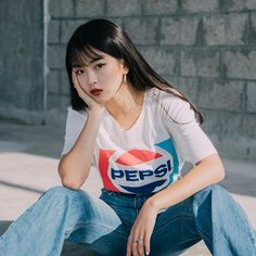 Did u drink pepsi today? Cola Wars, Bailey May, Female Character Inspiration, I Am The One, Princesas Disney, My Black, Face Claims, Pepsi, Female Characters