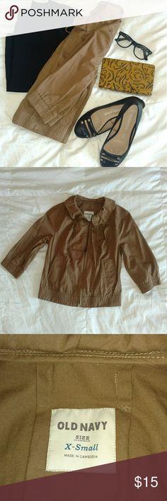 Old Navy 3 quarter sleeve jacket Super cute 3 quarter sleeve jacket. Old Navy Jackets & Coats