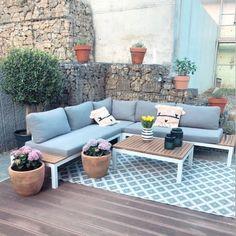Small Garden Landscape Design, Backyard, Patio, Outdoor Furniture, Outdoor Decor, Garden Landscaping, Decoration, New Homes, Balcony Ideas