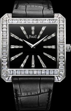 White gold Diamond Ultra-thin mechanical Watch - Piaget Luxury Watch G0A33147