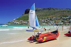Cape Town Beach Guide: Fish Hoek Beach - includes photos and videos of this False Bay attraction on the Cape Peninsula. Bolivia City, Norway Sweden Finland, Cape Town South Africa, Train Travel, Lake District, Vacation Destinations, Safari, Fish, Beaches