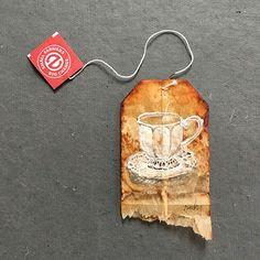 26 Days of Tea in France/10 Fraisier | Tea Bag Art | Pinterest | Tea ...