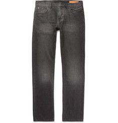 Jean Shop - Mick Slim-Fit Washed Selvedge Denim Jeans
